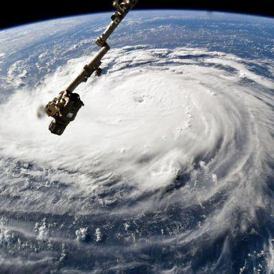 Florence-hurrikaani Nasan ja NOAA:n avaruudessa kuvatuilla videoilla