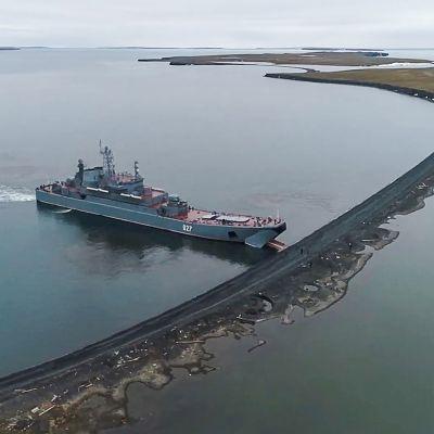 Novaja Zemljan saaret.