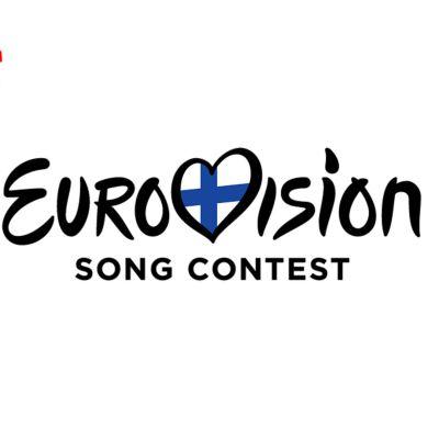 Euroviisujen logo kansallisella tunnuksella