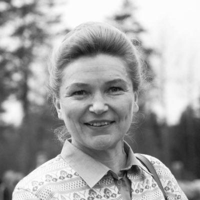 Hilkka Pietilä år 1983.