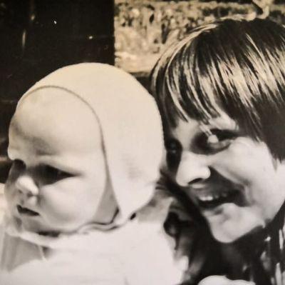 Bo Ahlgren och hans mamma