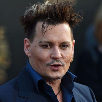 Näyttelijä Johnny Depp valokuvattuna toukokuussa 2016.