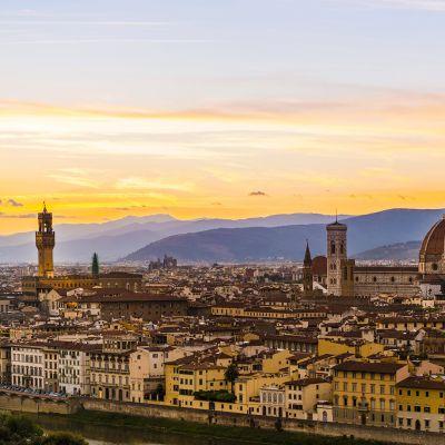 Firenzen vanhakaupunki on Unescon maailmanperintökohde.