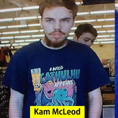 Kam McLeod och Bryer Schmegelsky, två kanadensiska tonåringar som misstänks ha mördat tre personer i Kanada.