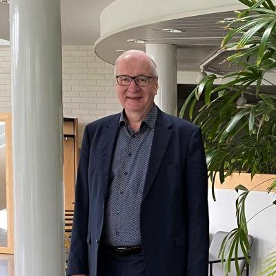 Luumäen kunnanjohtaja Risto Alaheikka.