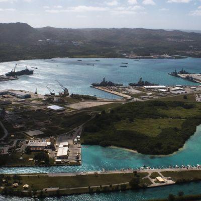 Laivastotukikohta Guamin saarella