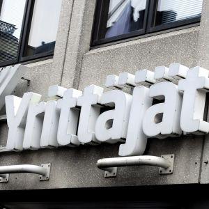 Suomen Yrittäjät -rakennus Mannerheimintiellä Helsingissä.