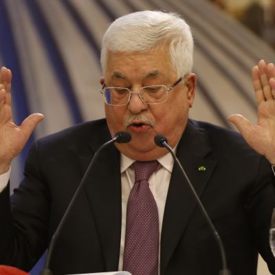 Palestiinalaisten presidentti Mahmud Abbas