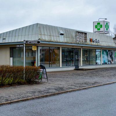 Yksityisen kotisairaala Luotsin entinen toimipaikka Turun Luolavuoressa.