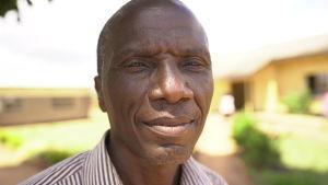 Willie Salati, vicerektor i en skola i Zambia