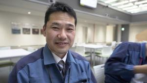 Yoshinori Takahashi, talesman för kraftbolaget Tepco.