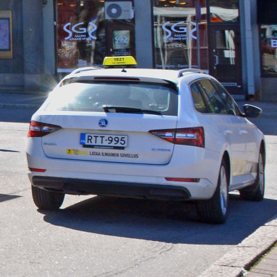 Borgå taxistation.