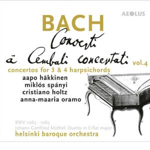 Bach: Concertos for 3 & 4 harpsichords / HeBO & Häkkinen