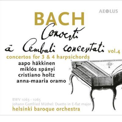 Bach: Concertos for 3 & 4 harpsichords / HeBO & Häkkinen