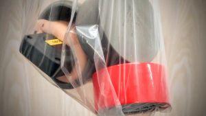 Gps-sändare i plastpåse