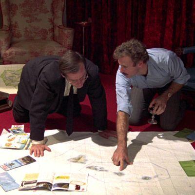 David (Jack Nicholson) ja Jason (Bruce Dern) elokuvassa Vain unelmilla on siivet