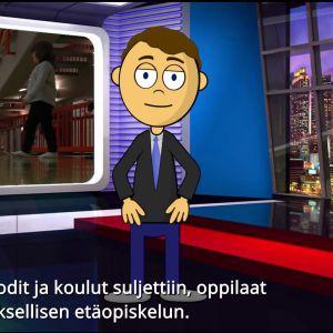 Kuvankaappaus Koronapäiväkirjat-dokumentista.