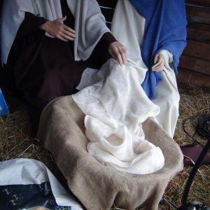 Natten till lördag stals Jesusbarnet ur krubban.