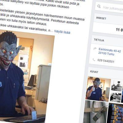 poliisin facebooksivu