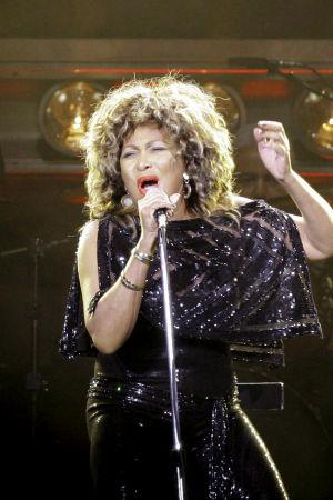 Tina Turner.