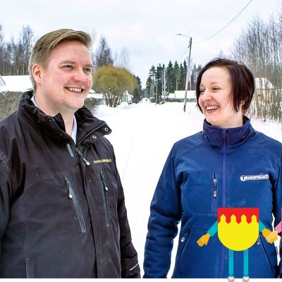 Camilla ja Mikko Maunu
