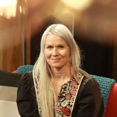 Designern Paola Suhonen.