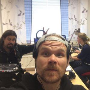 Elossa 24h-sarjan kuvausryhmä Ivalossa