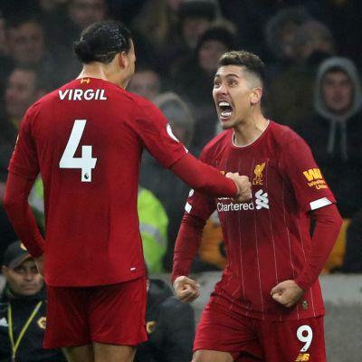 Liverpoolin kone ei yski - näin kaatui Wolves vieraissa