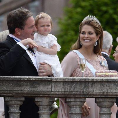 Christopher O'Neill, Prinsessan Leonore, prinsessan Madeleine,