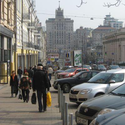 Ukrainas huvudstad Kiev