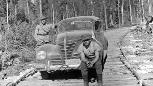Radioauto kapulasillalla 1941.08.01