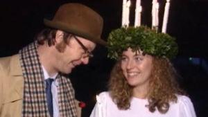 Holger Spår och Lucia 1993