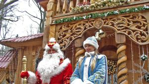 Fader Frost och Snöflickan i vitrysk tappning