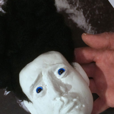 Eraserhead-hahmon muotoilua.
