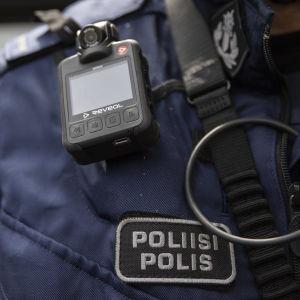 Poliisin haalarikamera