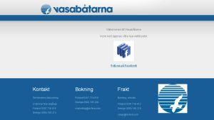 Vasabåtarna öppnar snart sin nya webbplats.