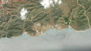 Motionssträckor utanför Guantanamo bay