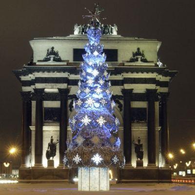 Jul och nyår i Moskva (2004)