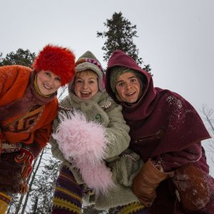 Huima Hurja, Serkku Shh ja Kaino Juhana / Huiman hauska joulu