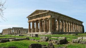 Poseidontemplet i Paestum, Italien.
