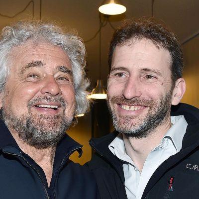 Peppe Grillo ja Davide Casaleggio.