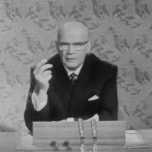Noottikriisin tilitys. Presidentti Urho Kekkosen puhe televisiossa 26.11.1961