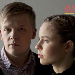 Pekka Kuusisto ja Paula Vesala Kiestinki-albumin (2011) promokuvassa.