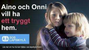 Aino och Onni, SOS, barnbyar