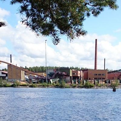 Vapo Timber Nurmeksen saha.