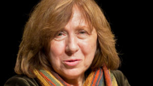 Nobelpristagaren i litteratur Svetlana Aleksijevitj