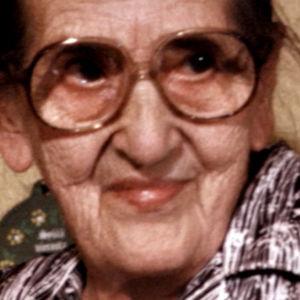 Rouva Hilja Meskus (1981).
