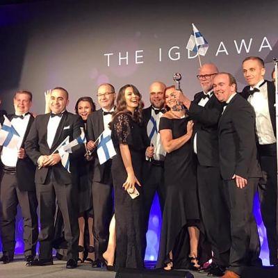 IGD Awards -juhla Lontoossa torstaina.