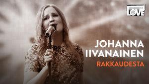 SuomiLOVEn 6. singlen kansi, jossa on Johanna Iivanainen.