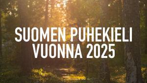 Suomen puhekieli vuonna 2025 -logo
